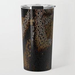 Ian Curtis : Unknown Pleasures Travel Mug