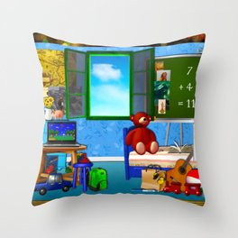 Laptop Throw Pillow