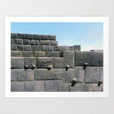 Coricancha, Cuzco 2011 Art Print