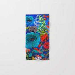 Blue Garden Hand & Bath Towel