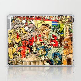 the daily lives of hungry ghosts Laptop & iPad Skin