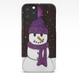 The Armless Snowman iPhone Case