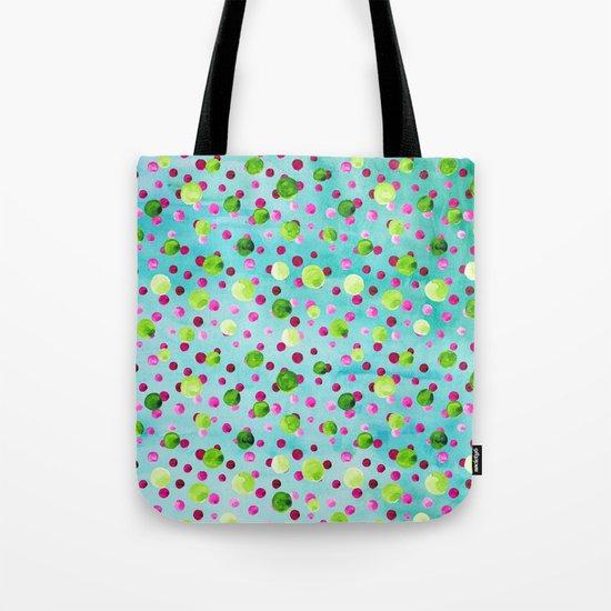 Polka Dot Pattern 09 Tote Bag