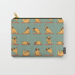 Pug Yoga Carry-All Pouch