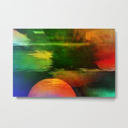 Multicolored abstract 2016 / 003 Metal Print