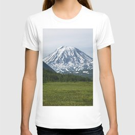 Volcanoes of Kamchatka Peninsula - Koryaksky Volcano, Arik and Aag Volcano T-shirt
