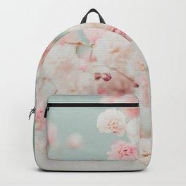 Gypsophila pink blush ll Backpack