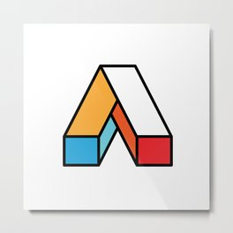 Aspire Brand Logo Metal Print
