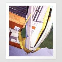 """bond Art Prints featuring """"Bond"""" by C A R E Y  M O R T O N"""