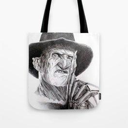 Freddy krueger nightmare on elm street Tote Bag