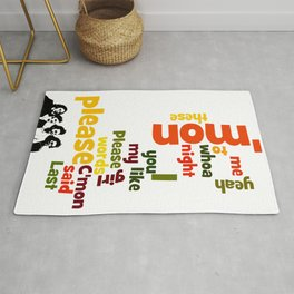 Please please me lyrics. A game for musicians. A great conversation starter. Rug