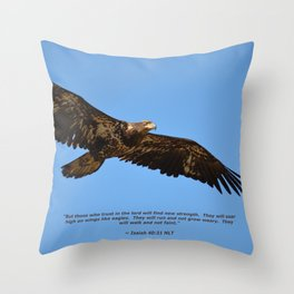 Soaring High!  -  Immature Throw Pillow