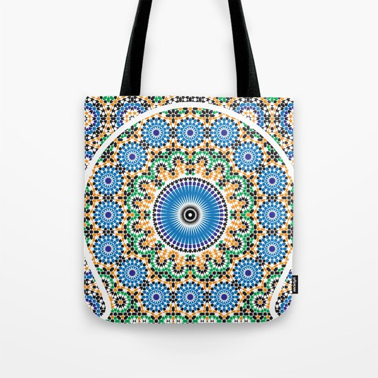 Moroccan Pattern Tote Bag
