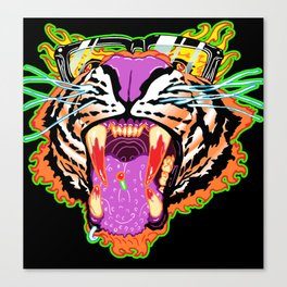 Tyger Style Canvas Print