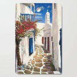 Mykonos Town, Greece Cutting Board