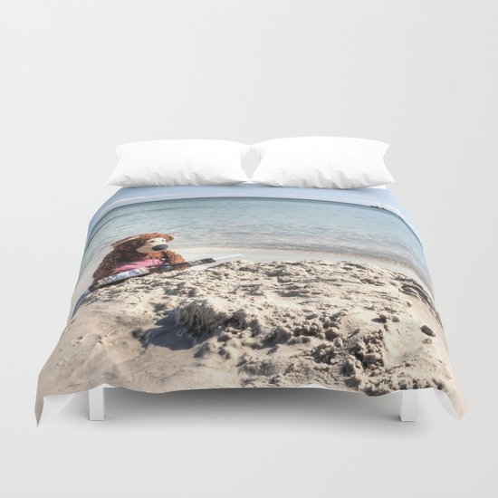 Message in a bottle Duvet Cover