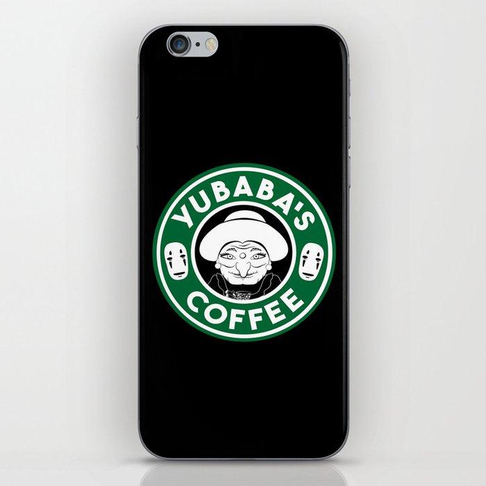 Yubaba's Coffee iPhone Skin