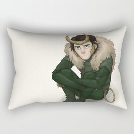 Agent of Asgard Rectangular Pillow