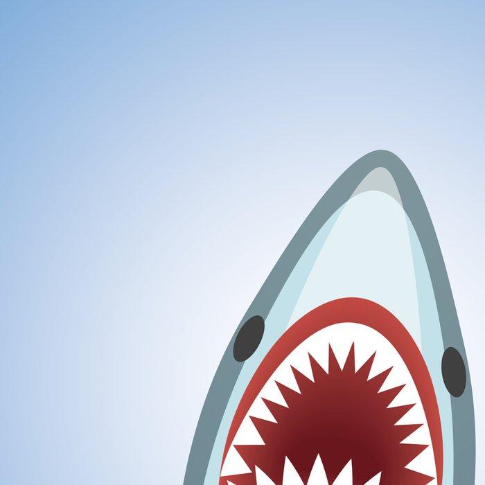 Cartoon Shark Leggings