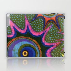 Starburst and polkadots batik Laptop & iPad Skin