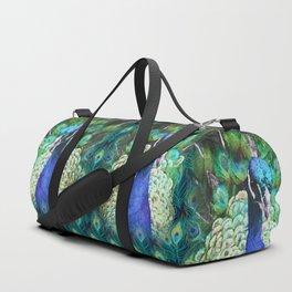 PEACOCKS BLUE Duffle Bag