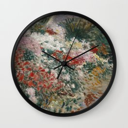 Dennis Miller Bunker - In The Greenhouse Wall Clock