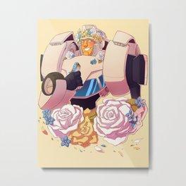 Hubcap Metal Print
