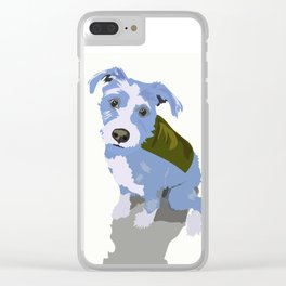 Clarence Cartoon Clear iPhone Case