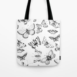 Butterflies and moths Tote Bag