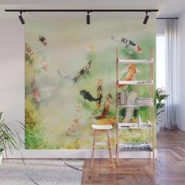 Fish watercolor II Wall Mural