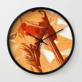 Jazz Fest Poster Wall Clock