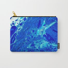 AN ABSTRACT PATTERN IN THE BLUE WATER SURFACE Carry-All Pouch