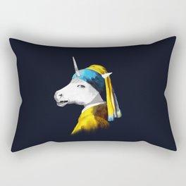 Cool Animal Art - Funny Unicorn Rectangular Pillow