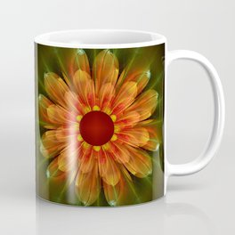 Artistic fantasy succulent flower Coffee Mug