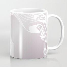 Rose Gold Liquid Marble Effect Design Coffee Mug