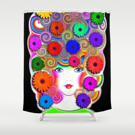 Priscilla Shower Curtain