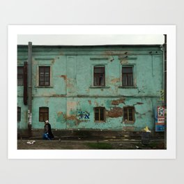 UMAN - WALKING Art Print