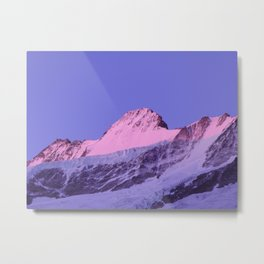 Schreckhorn North Face Metal Print