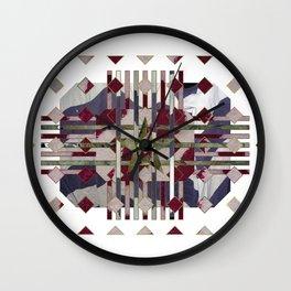 Flannel 05a Wall Clock