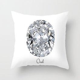Oval Throw Pillow