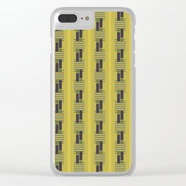 Weaving Pattern Clear iPhone Case