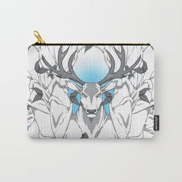 Stag in nature cold Carry-All Pouch