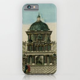 Vintage Print - The Hagia Sophia, Istanbul, 1760 iPhone Case