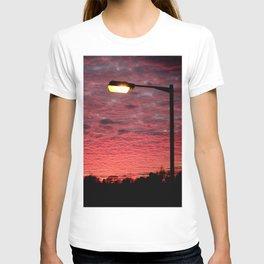 British Winter Sunset T-shirt