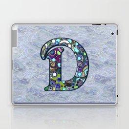 The Letter D Laptop & iPad Skin