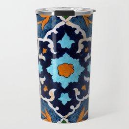 Mediterranean tile Travel Mug