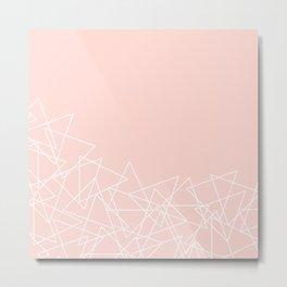 Pile O' Triangles Metal Print
