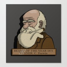 Beard Of The Year Canvas Print