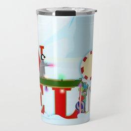 Penquin Chicks: Noel Preparation Travel Mug