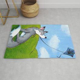 Kite Flier Rug